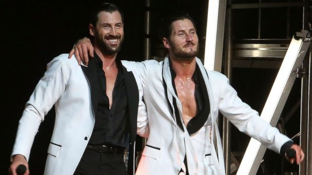 PHOTO: Maks Chmerkovskiy and Val Chmerkovskiy perform in Maks & Val