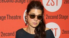 Marissa Tomei Wears Shades for a Premiere