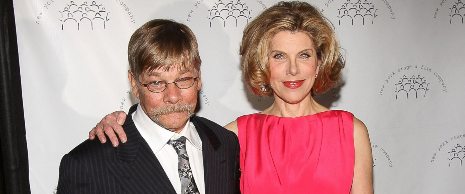 PHOTO: Actor Matthew Cowles and Actress Christine Baranski attends the New York Stage and Films annual gala at The Plaza Hotel in this Dec. 13, 2009, file photo.