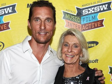 Inside Matthew McConaughey's Italian Getaway -- With His Mom!