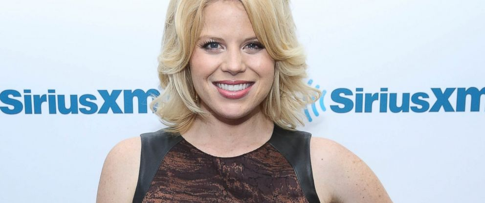 PHOTO: Megan Hilty visits at SiriusXM Studios, April 30, 2014, in New York.
