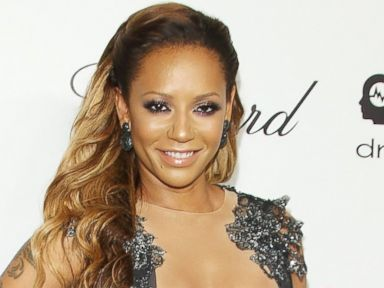 Photos: Mel B Goes Risque in Lace