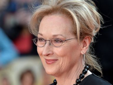PHOTO: Meryl Streep attends the World film premiere of Florence Foster Jenkins at Odeon Leicester Square on April 12, 2016 in London.