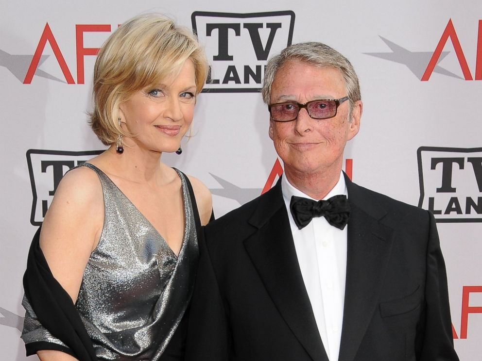 PHOTO: Diane Sawyer and Mike Nichols arrive at TV Land Presents: The AFI Life Achievement Awards Honoring Mike Nichols, in this June 10, 2010 file photo at Sony Pictures Studios in Culver City, Calif.