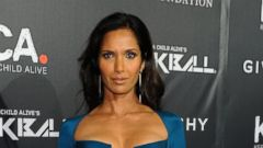 Padma Lakshmi Goes Glam In Blue