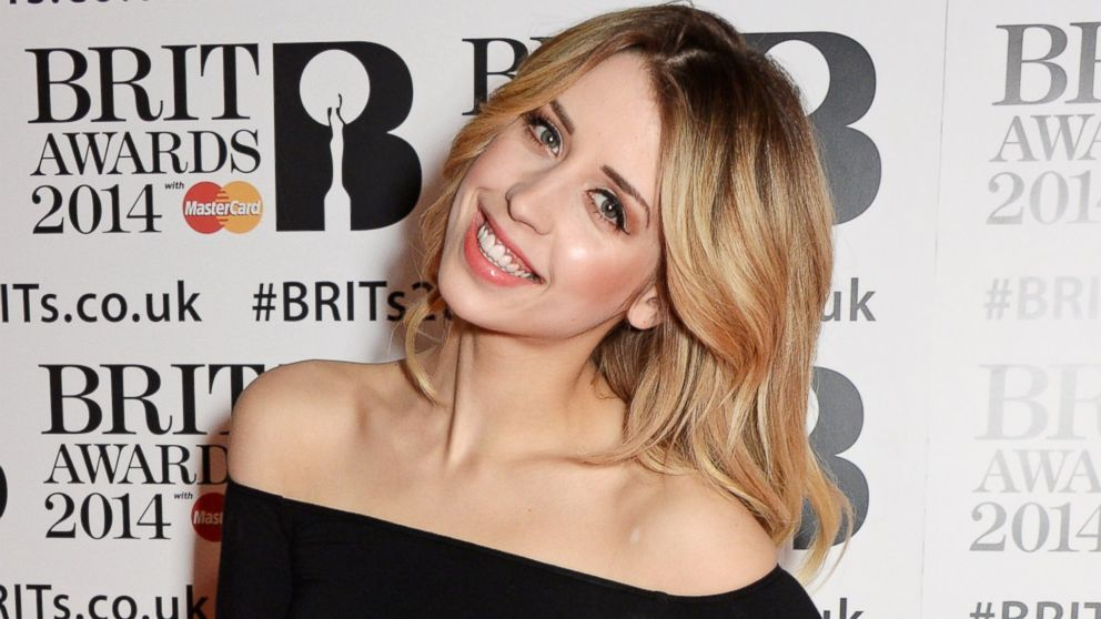 PHOTO: Peaches Geldof attends The BRIT Awards 2014 at the 02 Arena, Feb. 19, 2014 in London.