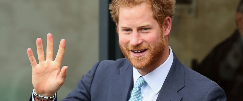 See Prince Harry's Christmas Card Photo - ABC News