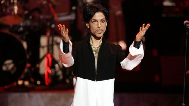 PHOTO: Musician Prince is seen on stage at the 36th NAACP Image Awards at the Dorothy Chandler Pavilion, on March 19, 2005, in Los Angeles. Prince was honored with the Vanguard Award.