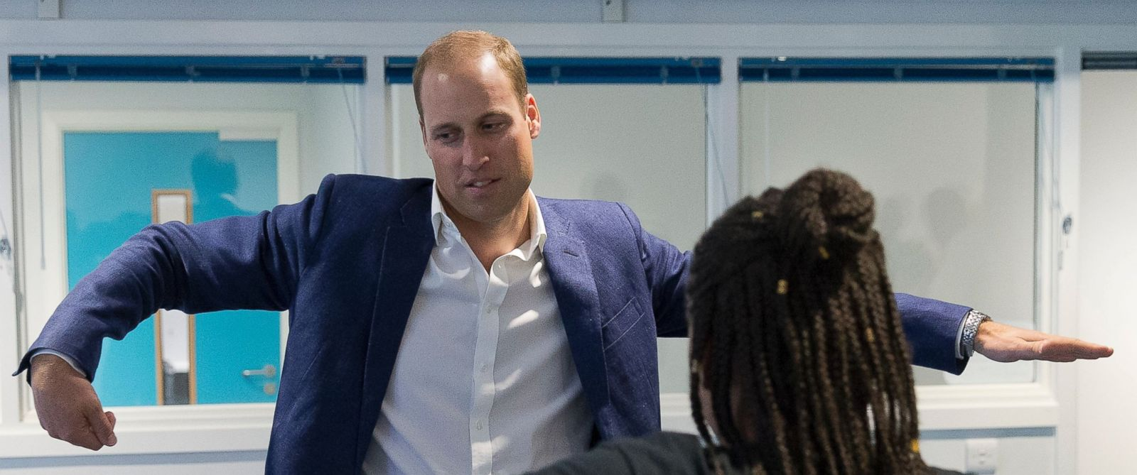 Prince William Shows His Dancing Skills Abc News