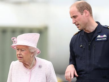 Prince William Spends Time With Queen Elizabeth II