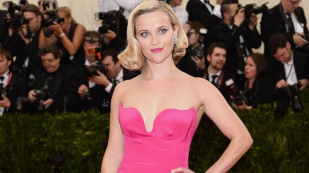 GTY Reese Witherspoon ml 140509 16x9 608 Reese Witherspoon Drops F Bomb as She Tries to Say Models Name at Met Ball