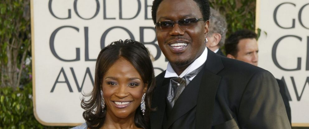 PHOTO: Actor/Comedian Bernie Mac and Rhonda McCullough attend the 61st Annual Golden Globe Awards at the Beverly Hilton Hotel, Jan. 25, 2004, in Beverly Hills, Calif.