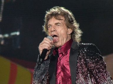 PHOTO: British singer and frontman of rock band The Rolling Stones Mick Jagger performs during a concert at Ciudad Deportiva in Havana, March 25, 2016.