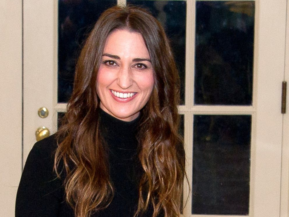 PHOTO: Singer Sara Bareilles arrives for the State Dinner at the White House, March 10, 2016, in Washington.
