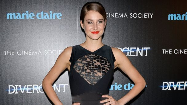 Shailene Woodley Rocks the Divergent Red Carpet