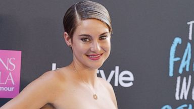 "PHOTO: Actress Shailene Woodley attends ""The Fault In Our Stars"" premiere at Ziegfeld Theater, June 2, 2014, in New Yor"