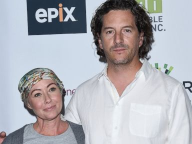 PHOTO: Shannen Doherty and husband Kurt Iswarienko attend Hollywood Unites for the 5th Biennial Stand Up To Cancer, A Program of The Entertainment Industry Foundation at Walt Disney Concert Hall on Sept. 9, 2016 in Los Angeles.