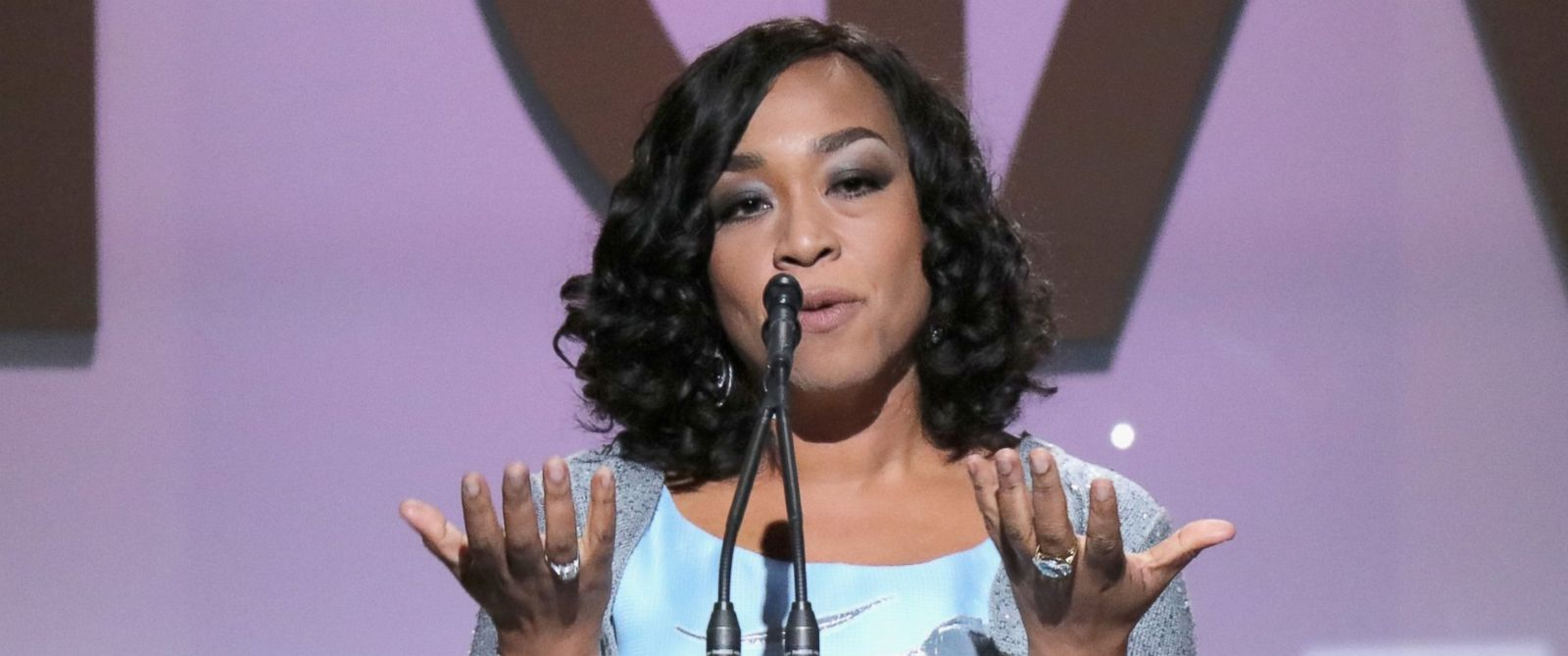 PHOTO: Shonda Rhimes accepts the Norman Lear Achievement Award onstage at the 27th Annual Producers Guild Awards at the Hyatt Regency Century Plaza, Jan. 23, 2016, in Century City, Calif.