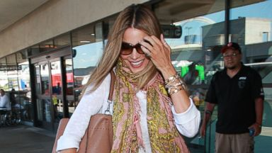 Sofia Vergara Arrives Home in L.A