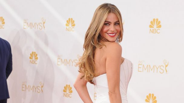 PHOTO: Actress Sofia Vergara arrives at the 66th annual Primetime Emmy Awards at Nokia Theatre L.A. Live, Aug. 25, 2014, in Los Angeles.