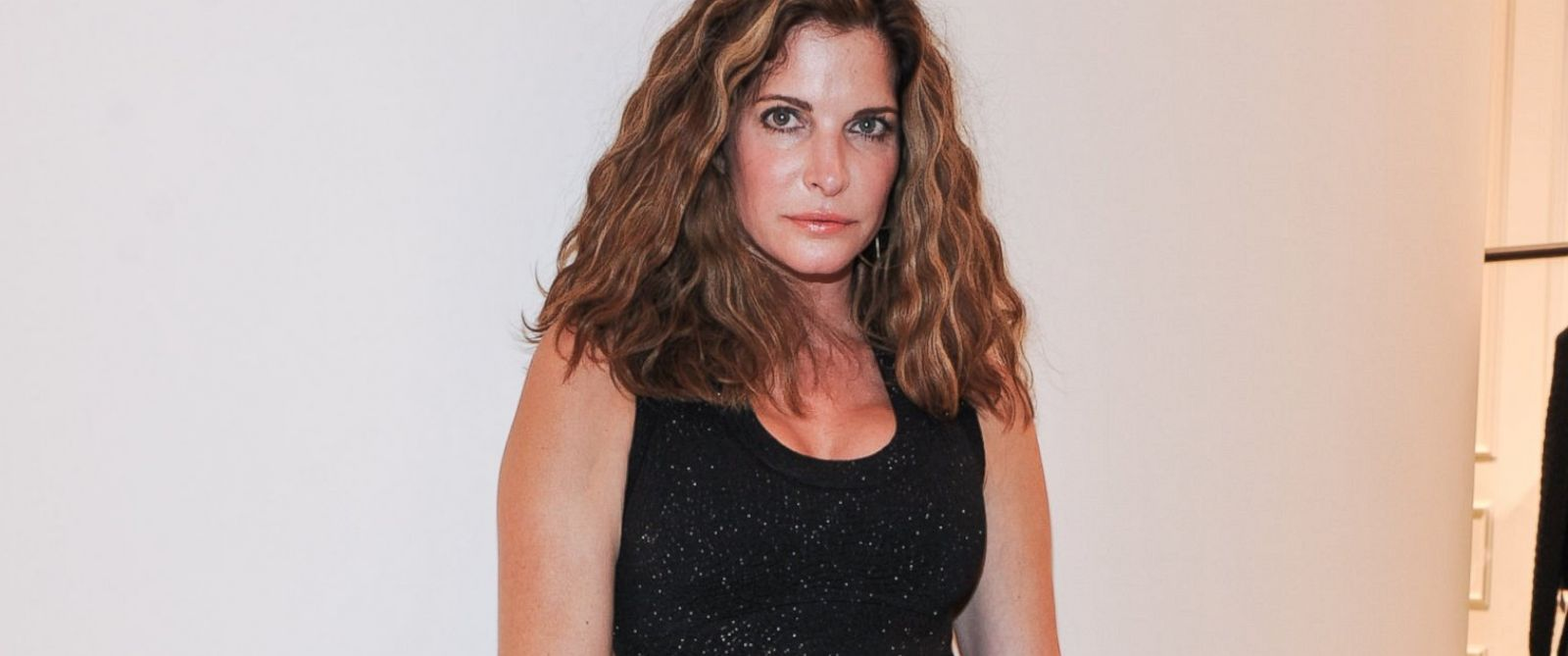 Photo of Stephanie Seymour and her 2018 clean make up style, products & tips
