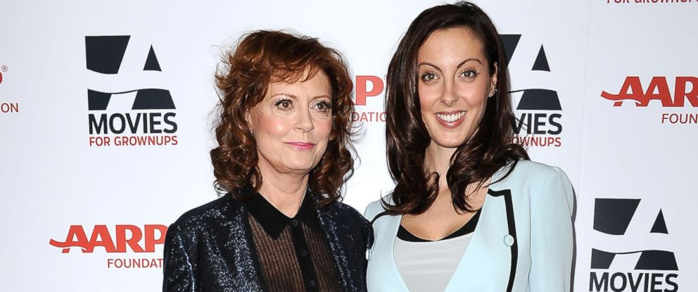 PHOTO: Actresses Susan Sarandon and Eva Amurri Martino attend the 13th annual AARPs Movies For Grownups Awards gala at Regent Beverly Wilshire Hotel in this Feb. 10, 2014, file photo in Beverly Hills, Calif.