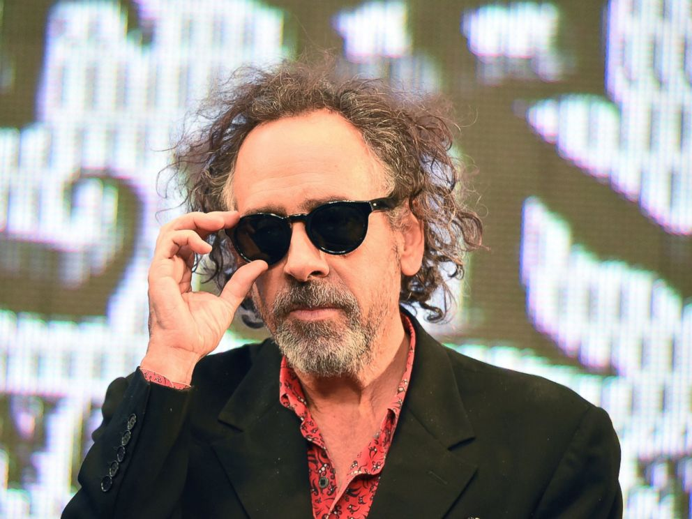 PHOTO: Director Tim Burton attends the opening ceremony of the World of Tim Burton exhibition at Roppongi Hills arena, Oct. 31, 2014 in Tokyo.
