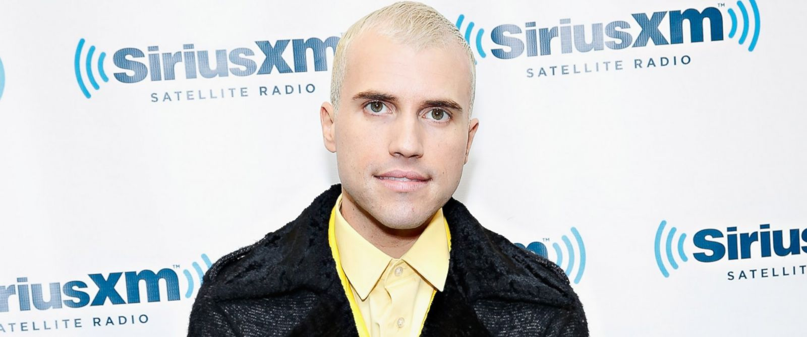 PHOTO: Singer Tyler Glenn of Neon Trees visits the SiriusXM Studios, March 13, 2014 in New York City.