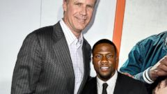 Will Ferrell and Kevin Hart Hit the Premiere of Their Film