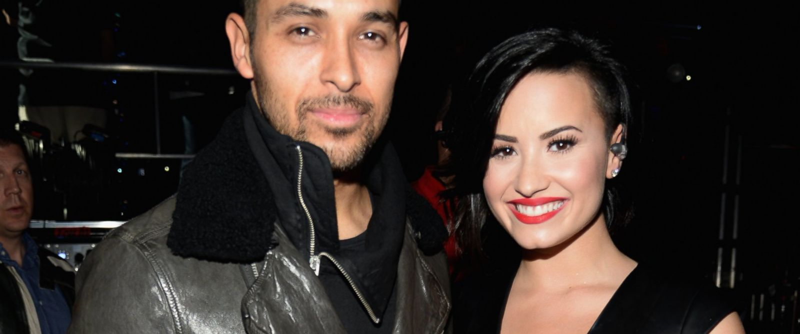 PHOTO: Actor Wilmer Valderrama and singer Demi Lovato attend KIIS FMs Jingle Ball 2014 powered by LINE at Staples Center, Dec. 5, 2014 in Los Angeles.