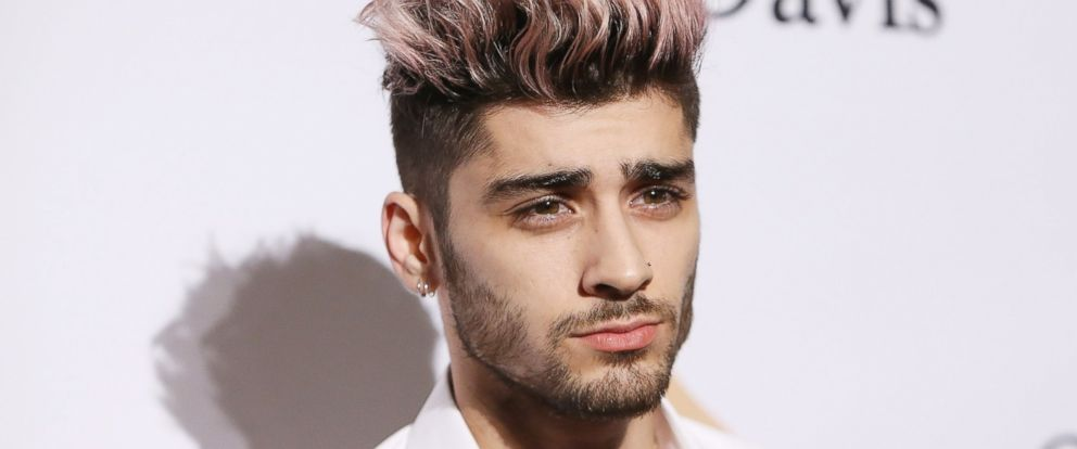 PHOTO: Zayn Malik arrives at the 2016 Pre-GRAMMY Gala and Salute to Industry Icons honoring Irving Azoff held at The Beverly Hilton Hotel, Feb. 14, 2016, in Beverly Hills, Calif.