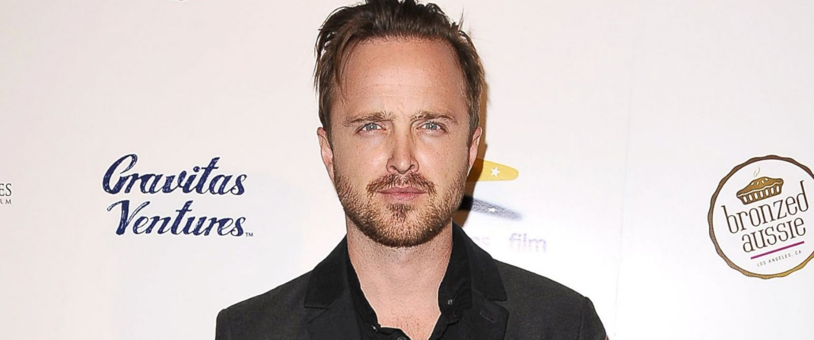"PHOTO: Aaron Paul attends the premiere of ""Felony"" at Harmony Gold Theatre, Oct. 16, 2014, in Los Angeles."