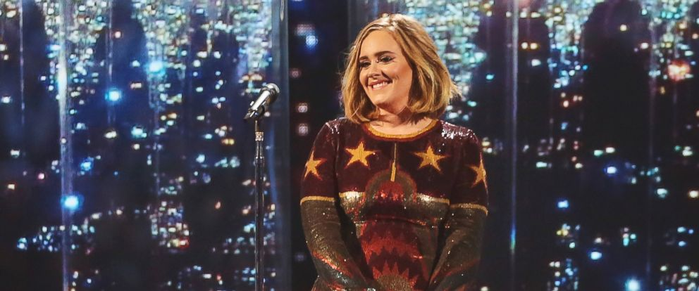 PHOTO: Adele performs at the BRIT Awards 2016, Feb. 24, 2016 in London, England.