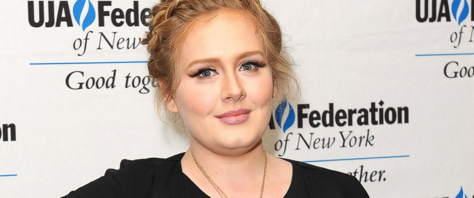 PHOTO: Adele attends the UJA-Federation Of New York Music Visionary Of The Year Award Luncheon at The Pierre Hotel, June 21, 2013, in New York City.