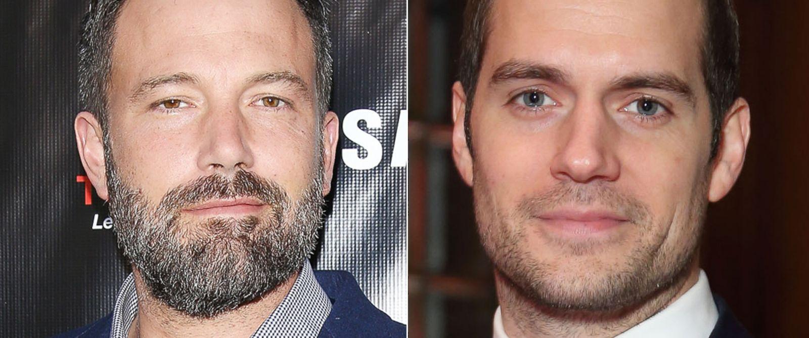 "PHOTO:Ben Affleck and Henry Cavill star in the upcoming ""Batman v Superman"" movie."