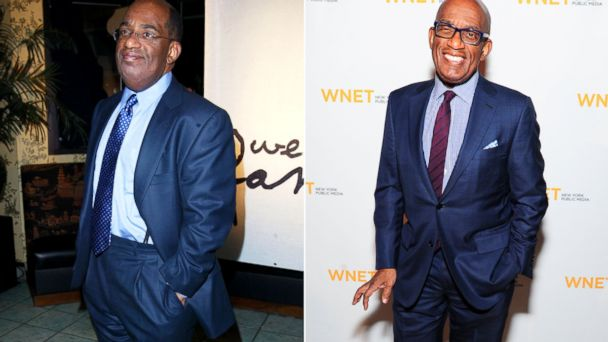 PHOTO: From left, Al Roker in New York, Jan. 29, 2003 and April 1, 2014.