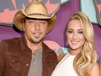 Jason Aldean and Girlfriend Brittany Kerr Make Their Red Carpet Debut