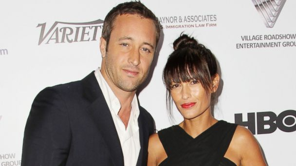 GTY alex oloughlin malia jones sr 140418 16x9 608 Surprise! Alex OLoughlin Is a Married Man