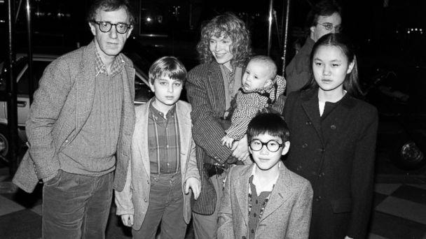 GTY allen farrow family jtm 140205 16x9 608 Family Takes Sides in Woody Allen, Dylan Farrow Saga