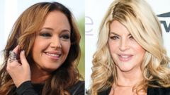 PHOTO: Actress Leah Remini is getting public blowback from actress Kirstie Alley