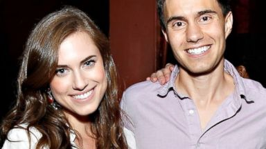 PHOTO: Allison Williams and Ricky Van Veen attend CollegeHumor Offline Annual Production at Gramercy Theatre in New York, Aug. 8, 2013.