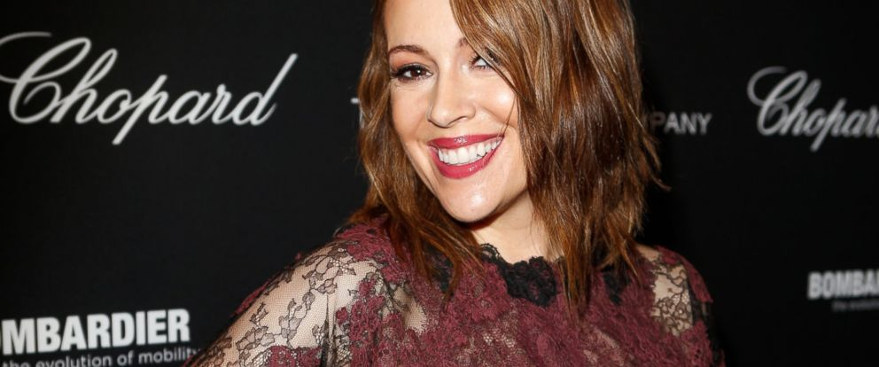 PHOTO: Actress Alyssa Milano attends The Weinstein Companys Academy Award party hosted by Chopard and DeLeon Tequila at Montage Beverly Hills, March 1, 2014, in Beverly Hills, Calif.