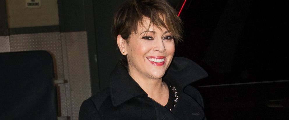 PHOTO: Alyssa Milano is seen, Jan. 6, 2016, in New York.