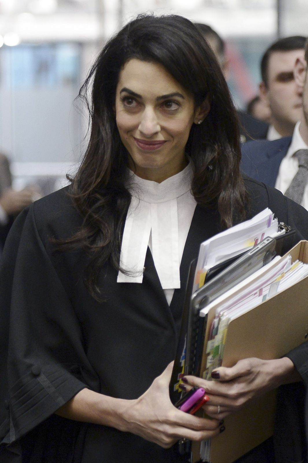 Amal Clooney Goes to Work In France Picture | All of Amal ...