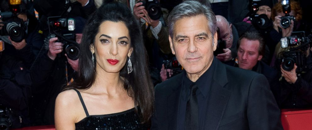 "PHOTO: George Clooney and his wife Amal attend the ""Hail, Caesar!"" premiere during the 66th Berlinale International Film Festival Berlin at Berlinale Palace, Feb. 11, 2016, in Berlin."