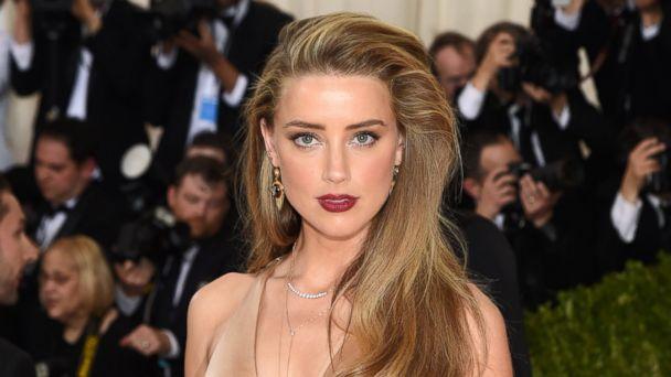 PHOTO: Amber Heard attends the