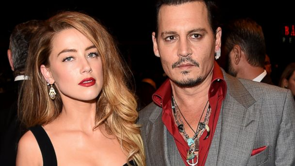 PHOTO:Amber Heard and Johnny Depp attend the