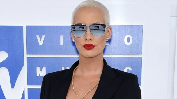 PHOTO: Amber Rose attends the 2016 MTV Video Music Awards at Madison Square Garden, Aug. 28, 2016, in New York City.