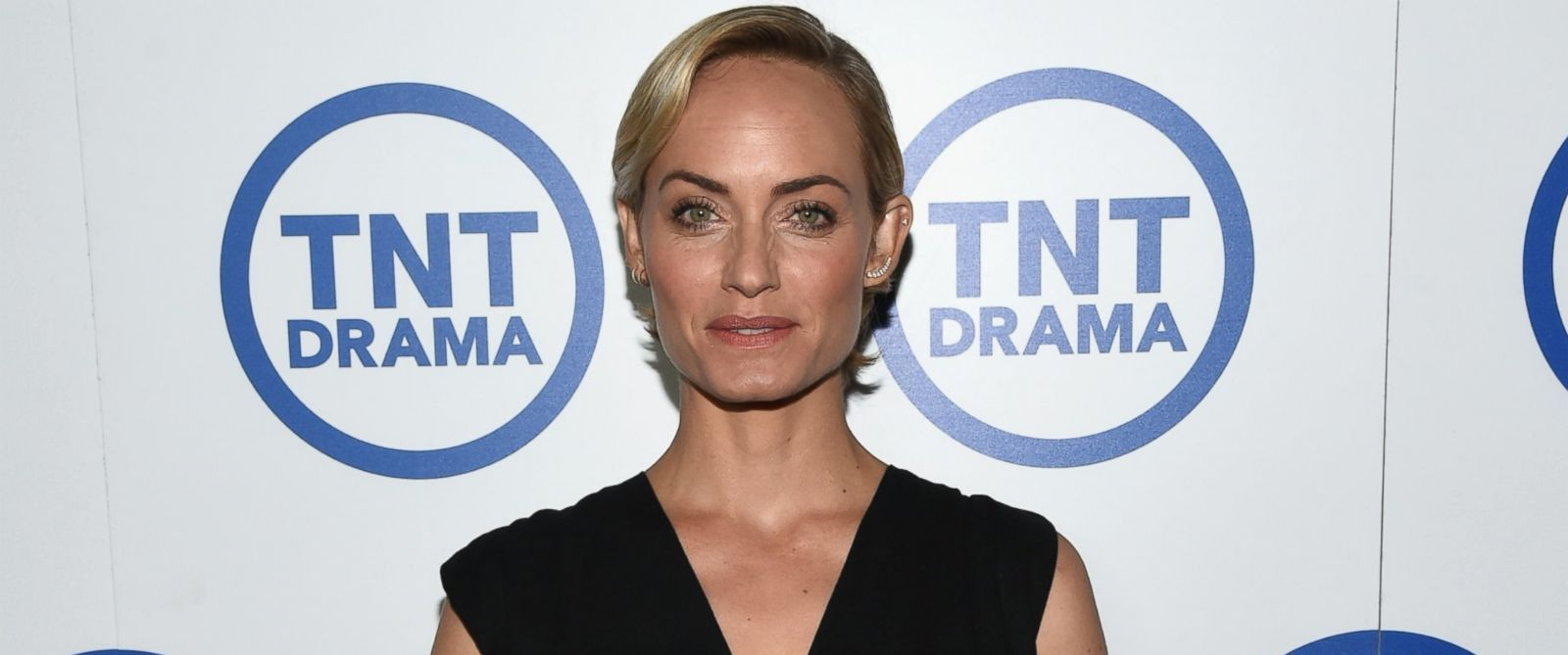 "PHOTO: Actress Amber Valletta attends the ""Legends"" portion of the 2014 TCA Turner Broadcasting Summer Press Tour Presentation at The Beverly Hilton, July 10, 2014, in Los Angeles."