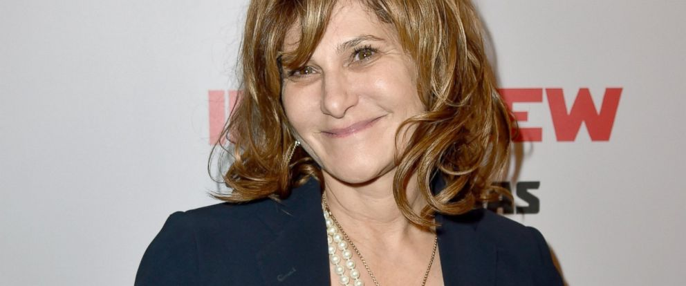 "PHOTO: Co-Chairman of Sony Pictures Entertainment Amy Pascal attends the Premiere of Columbia Pictures ""The Interview"" at The Theatre at Ace Hotel Downtown LA, Dec. 11, 2014, in Los Angeles."